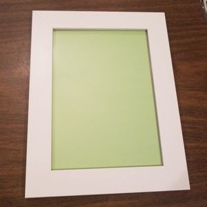 "5x7"" white picture frame"